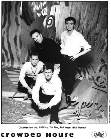 Crowded House Promo Print