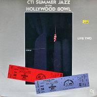 "CTI Summer Jazz At The Hollywood Bowl: Live Two Vinyl 12"" (Used)"