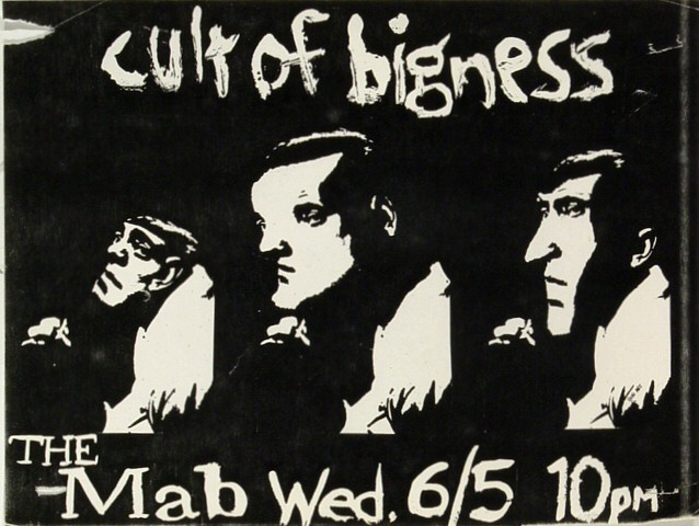 Cult of Bigness Handbill