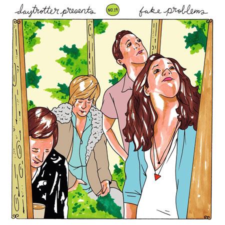"Cursive / Fake Problems Vinyl 12"" (New) reverse side"
