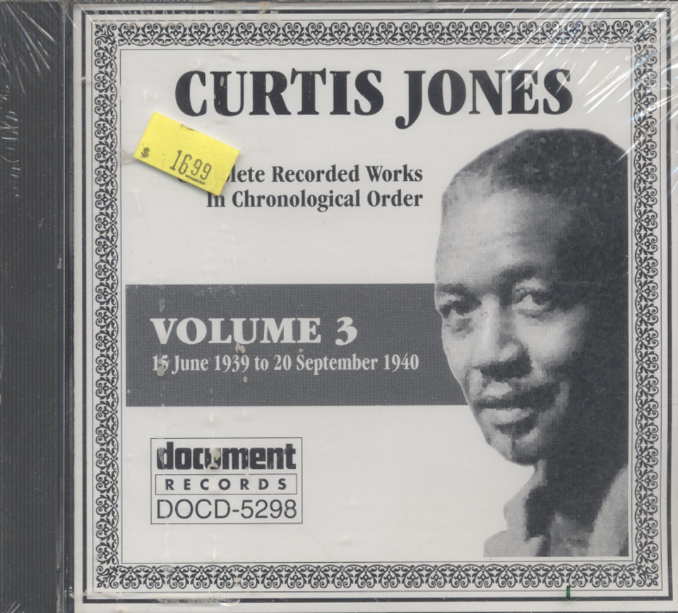 Curtis Jones CD