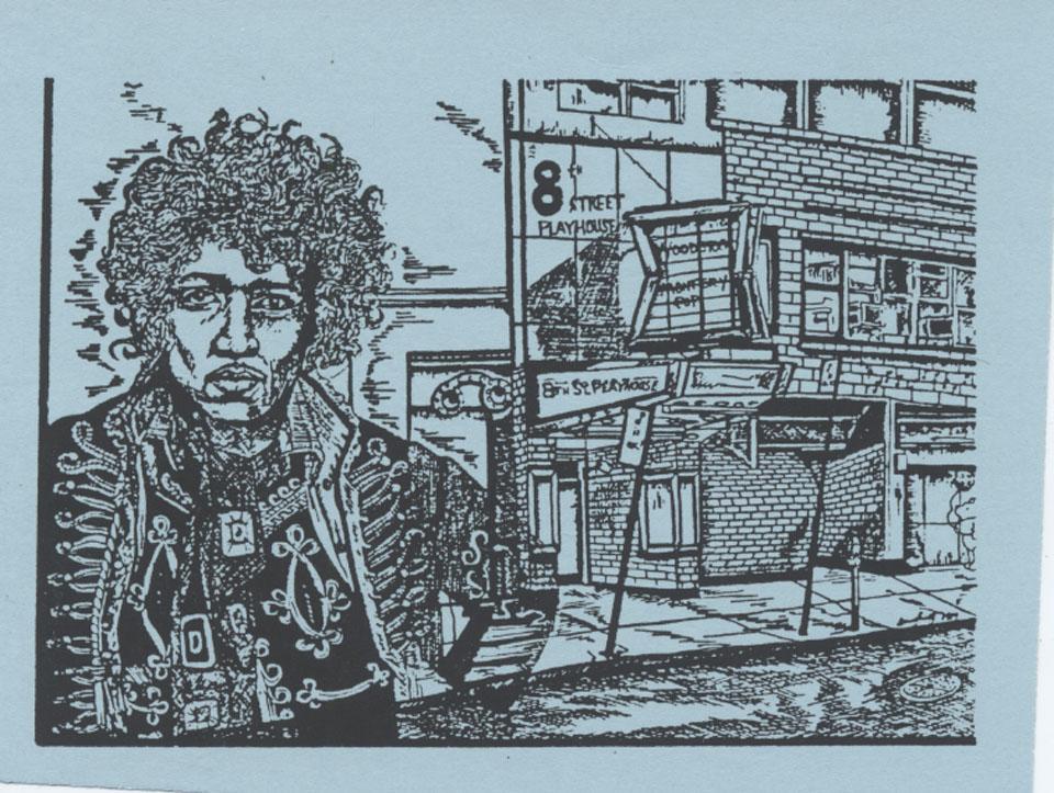 Curtis Knight Handbill