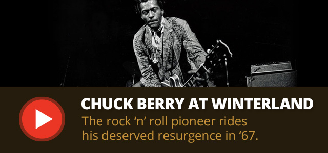 Chuck Berry at Winterland