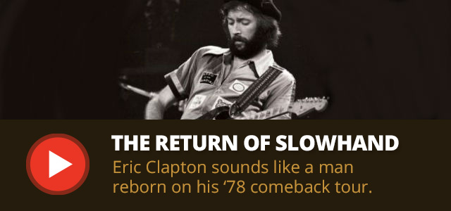 Eric Clapton at Santa Monica Civic