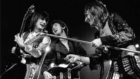 Rock: Rod Stewart & The Faces in '73