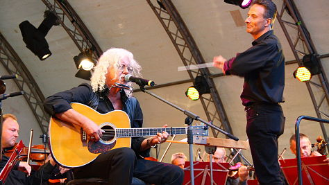Folk & Bluegrass: Arlo Guthrie at the Kennedy Center, 2001