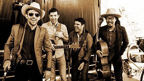 Folk & Bluegrass: The Avett Brothers at Big Orange Studios