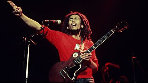 Rock: Bob Marley at Paul's Mall