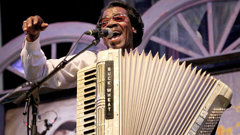 Folk & Bluegrass: Buckwheat Zydeco at Tramps, 1996