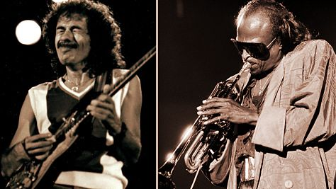 Jazz: Video: Carlos Santana Meets Miles Davis
