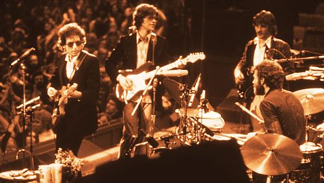 Rock: Bob Dylan with The Band, 1974