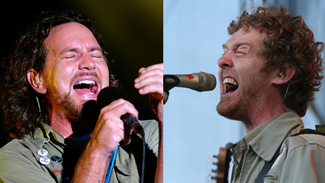 Rock: On Tour This Fall: Vedder and Hansard