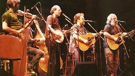 Folk & Bluegrass: Jerry Garcia Unplugged at French's Camp
