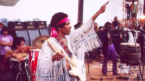 Rock: Jimi Closes Woodstock