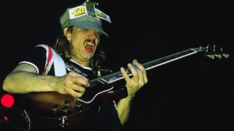 Rock: Joe Walsh Barnstorms Univeristy of Texas