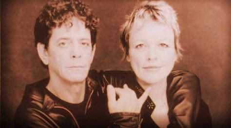 Rock: Lou Reed & Laurie Anderson at Tramps, 1995