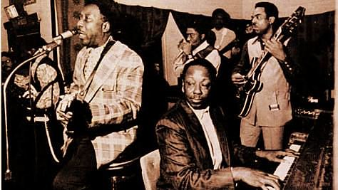 Blues: Pinetop Perkins With Muddy Waters in Nice