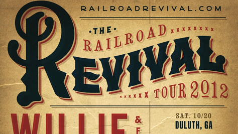 Country: Railroad Revival Tour 2012
