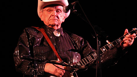Folk & Bluegrass: Ralph Stanley at the Newport Folk Festival