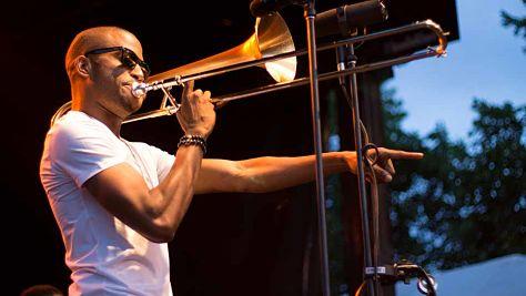 Rock: Trombone Shorty in Asheville, 2011