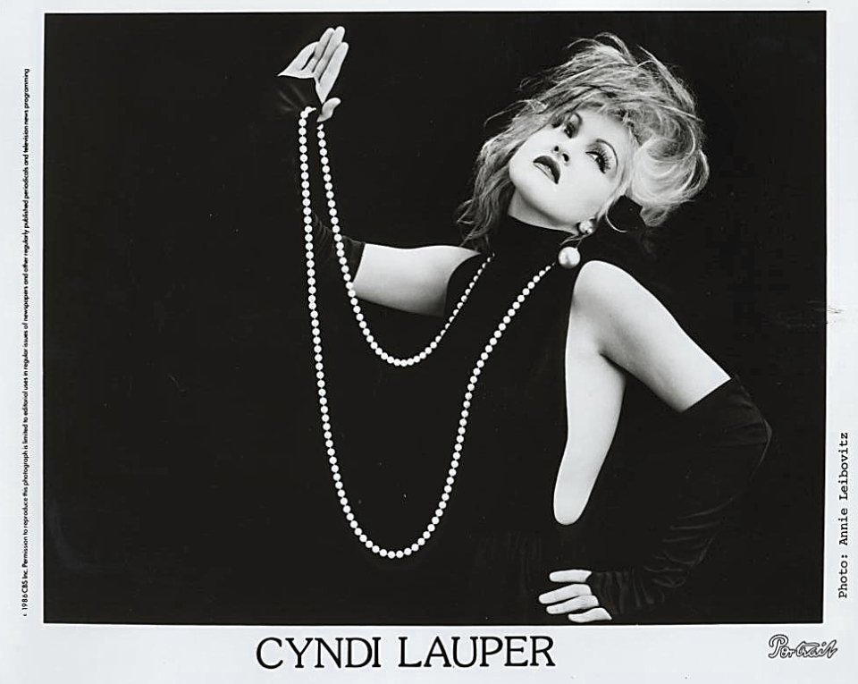 Cyndi Lauper Promo Print