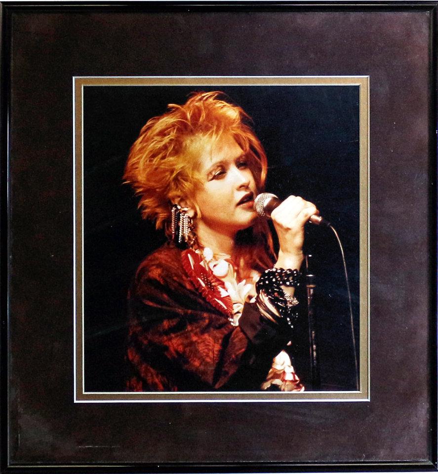 Cyndi Lauper Vintage Print