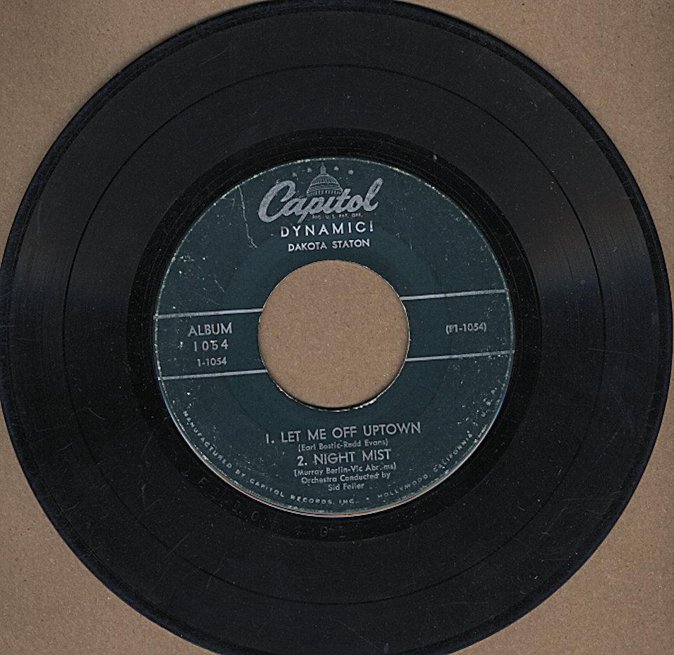 "Dakota Staton Vinyl 7"" (Used)"