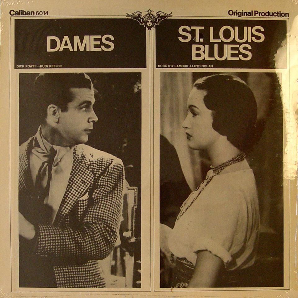 """Dames / St. Louis Blues Vinyl 12"""" (New)"""