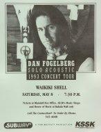 Dan Fogelberg Handbill