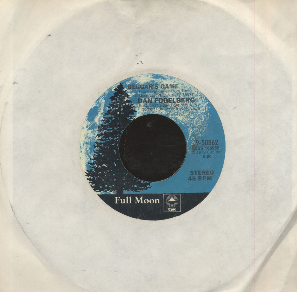 """Dan Fogelberg Vinyl 7"""" (Used)"""