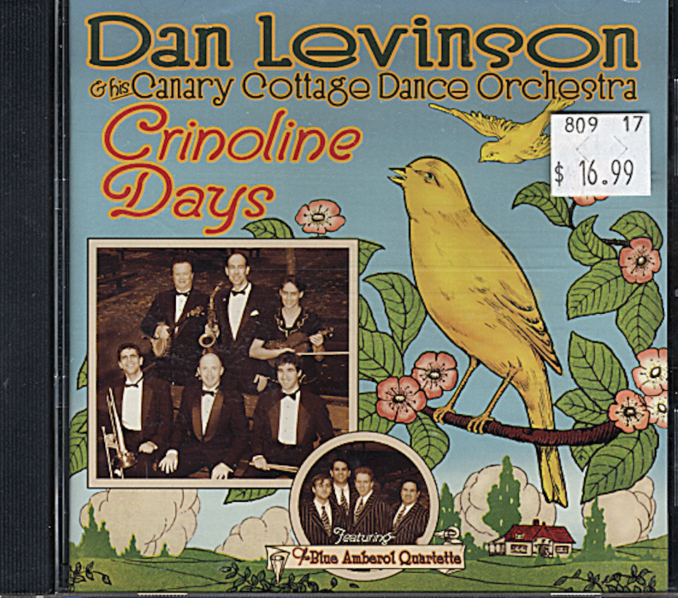 Dan Levinson and his Canary Cottage Dance Orchestra CD