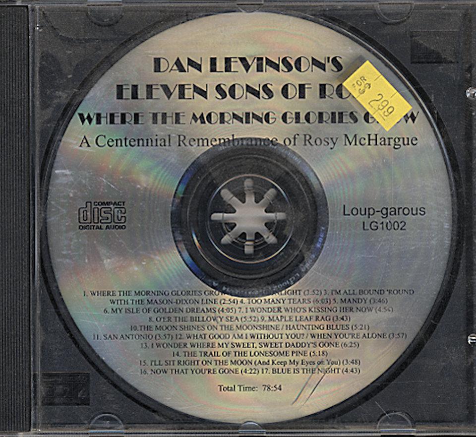Dan Levinson's Eleven Sons of Rosy CD