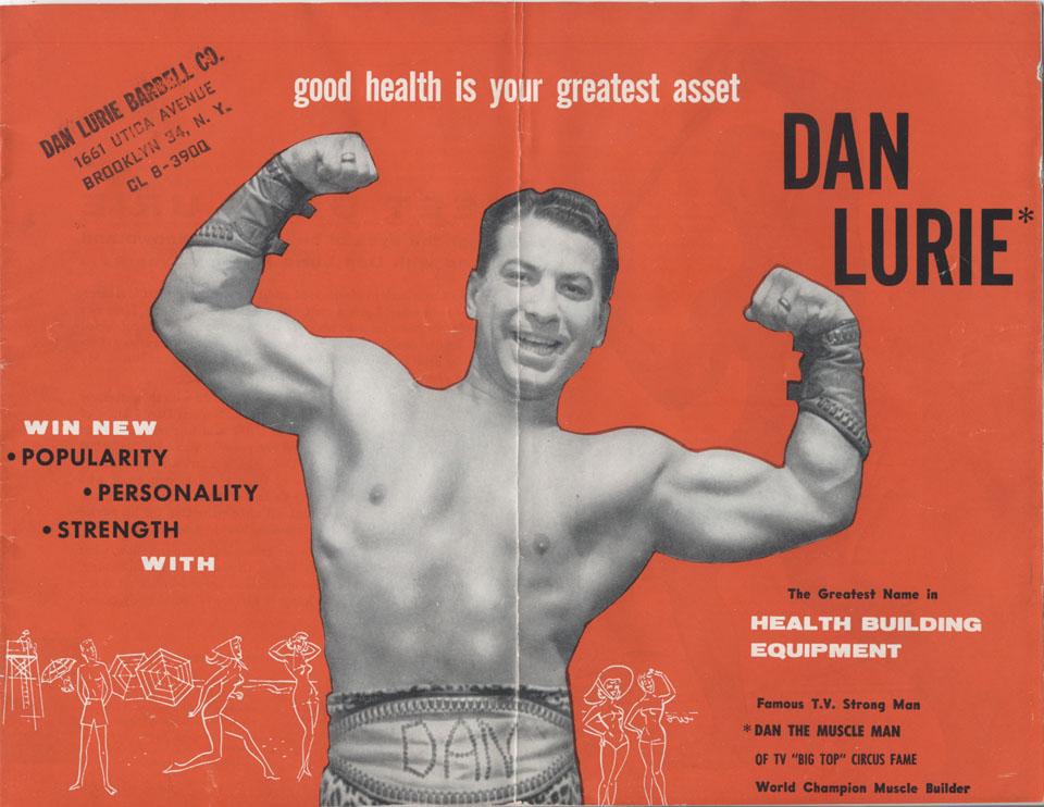 Dan Lurie Barbell Catalog