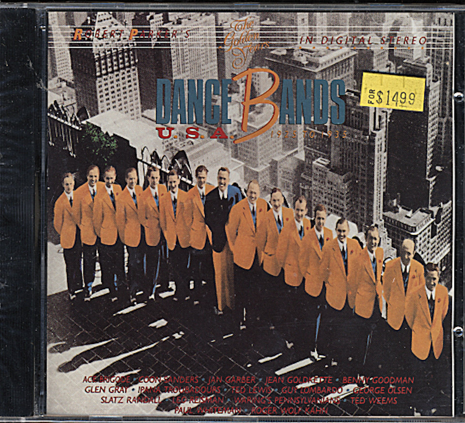 Dance Bands U.S.A. 1925 to 1935 CD