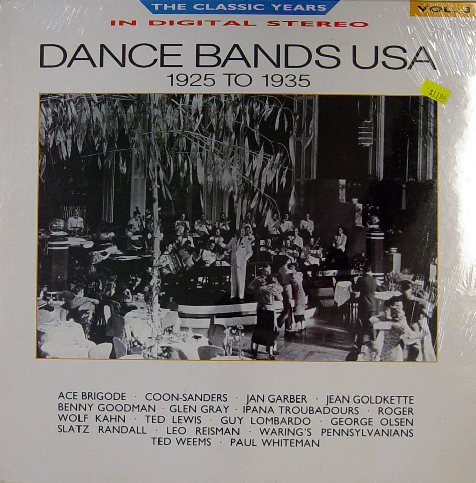 """Dance Bands USA 1925 to 1935 Vinyl 12"""" (New)"""