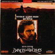 Dances With Wolves Laserdisc