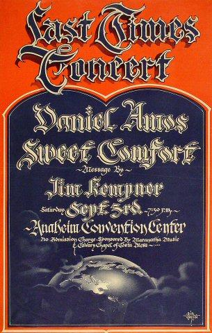 Daniel Amos Poster