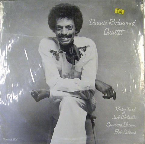 """Dannie Richmond Quintet Vinyl 12"""" (Used)"""