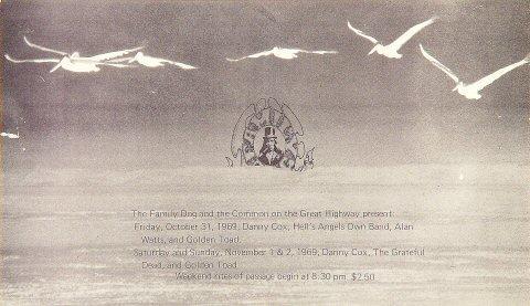 Danny Cox Handbill