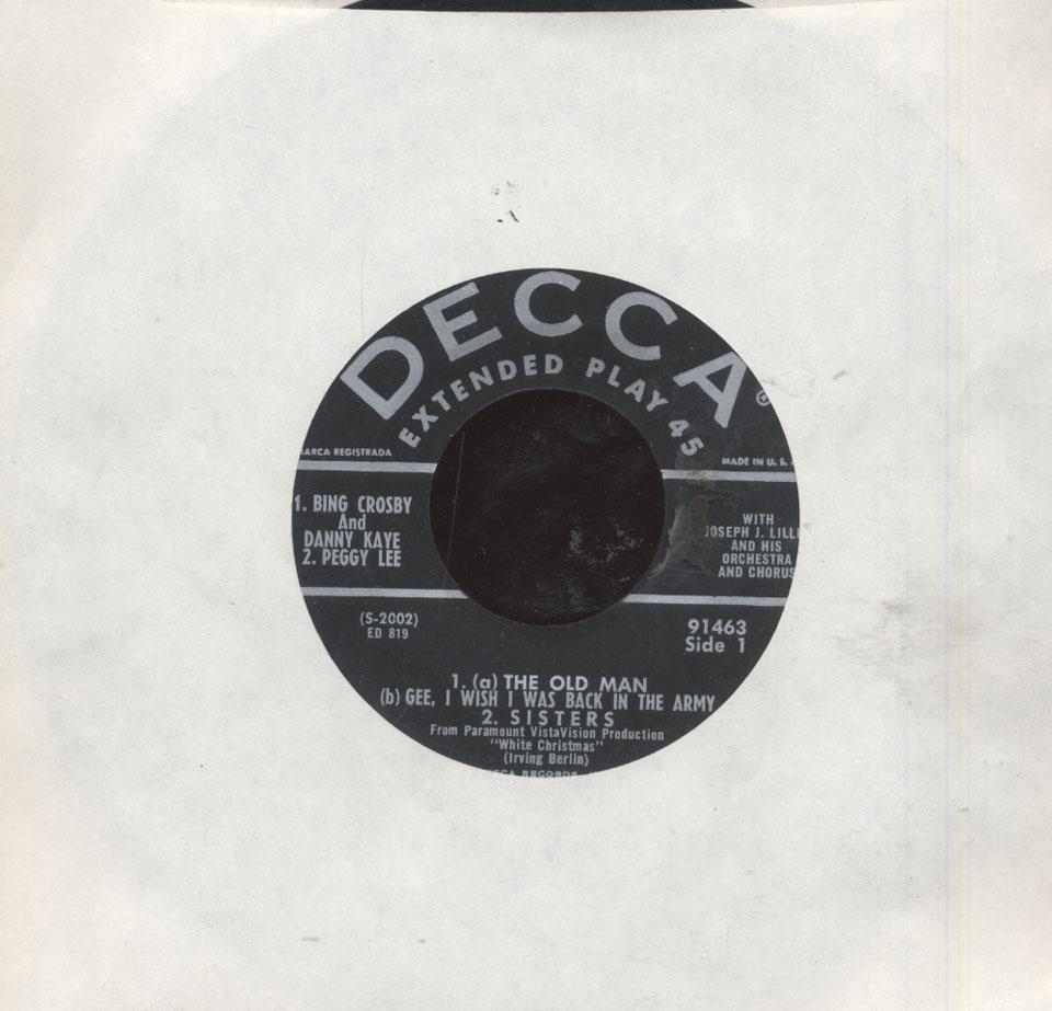 "Danny Kaye and the Skylarks Vinyl 7"" (Used)"