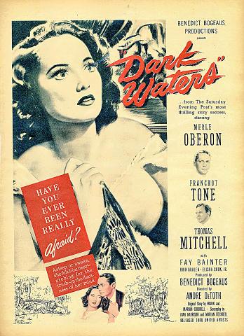 Dark Waters Vintage Ad