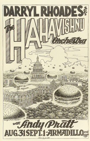 Darryl Rhoades and the HaHa Vishnu Orchestra Poster