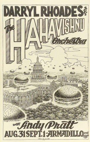 Darryl Rhoades and the HaHa Vishnu Orchestra Poster