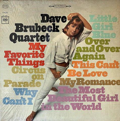 """Dave Brubeck Quartet Vinyl 12"""" (Used)"""