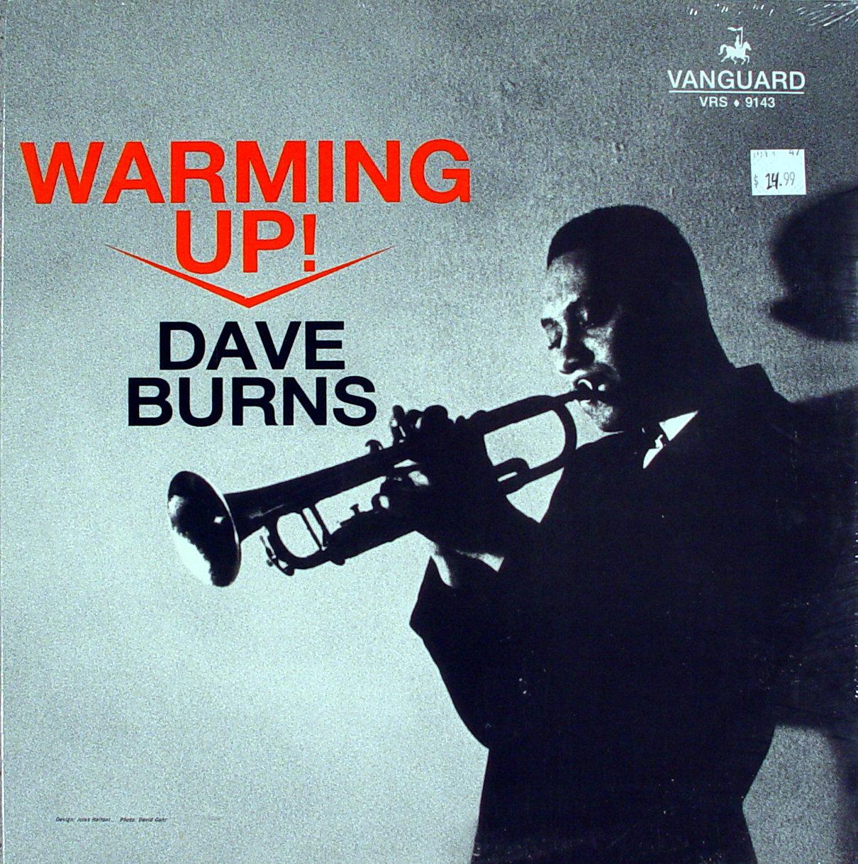 "Dave Burns Vinyl 12"" (New)"