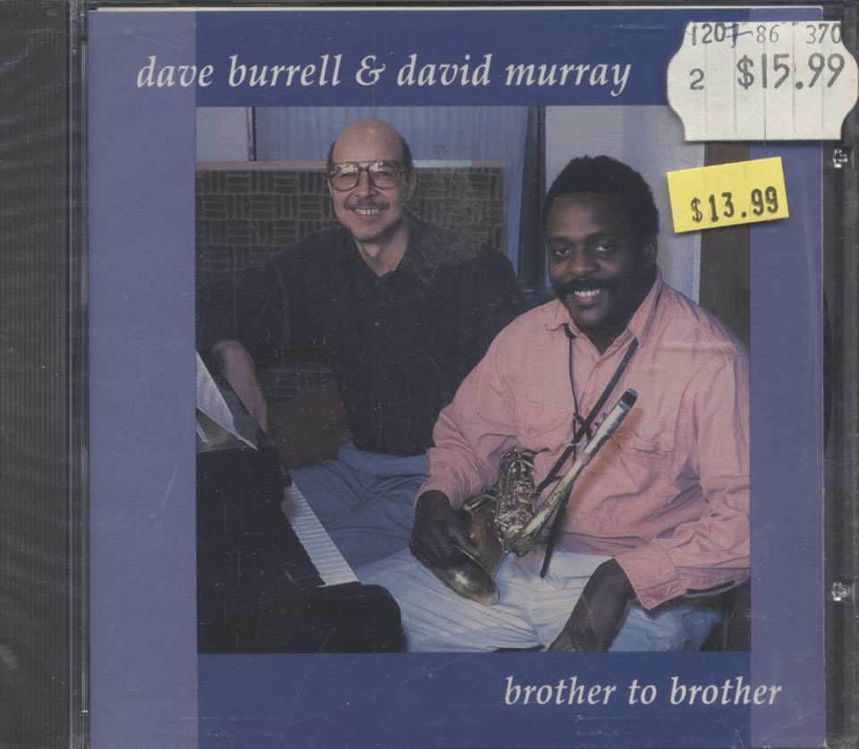 Dave Burrell & David Murray CD