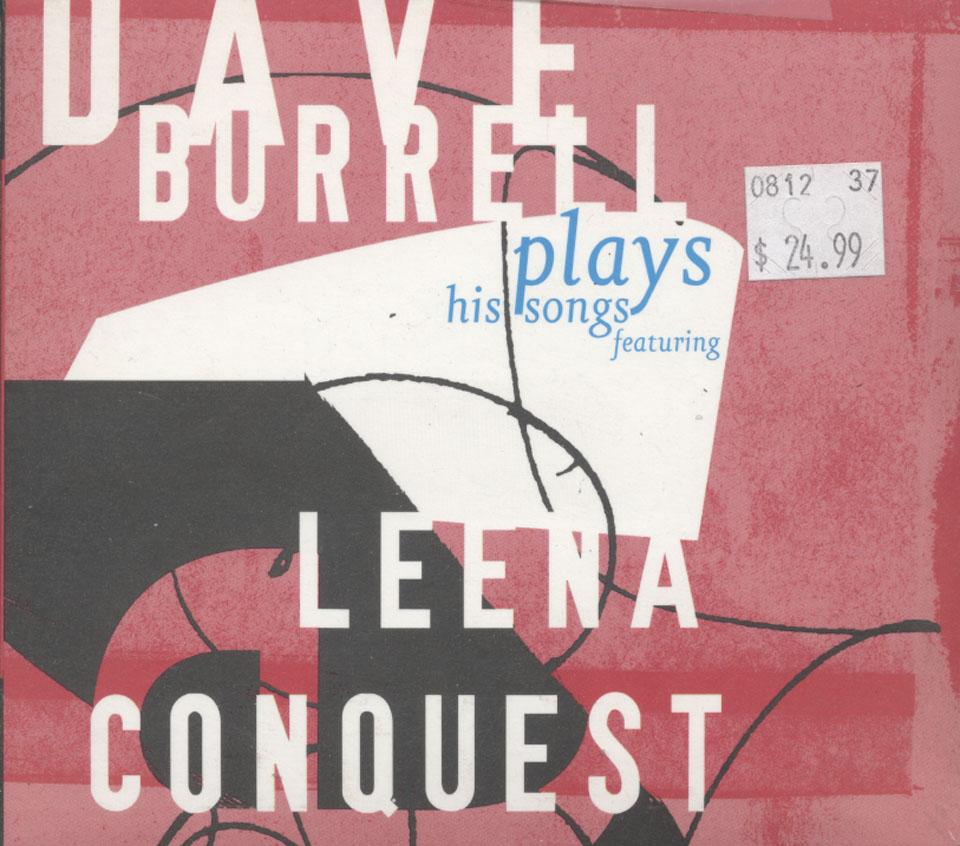 Dave Burrell / Leena Conquest CD