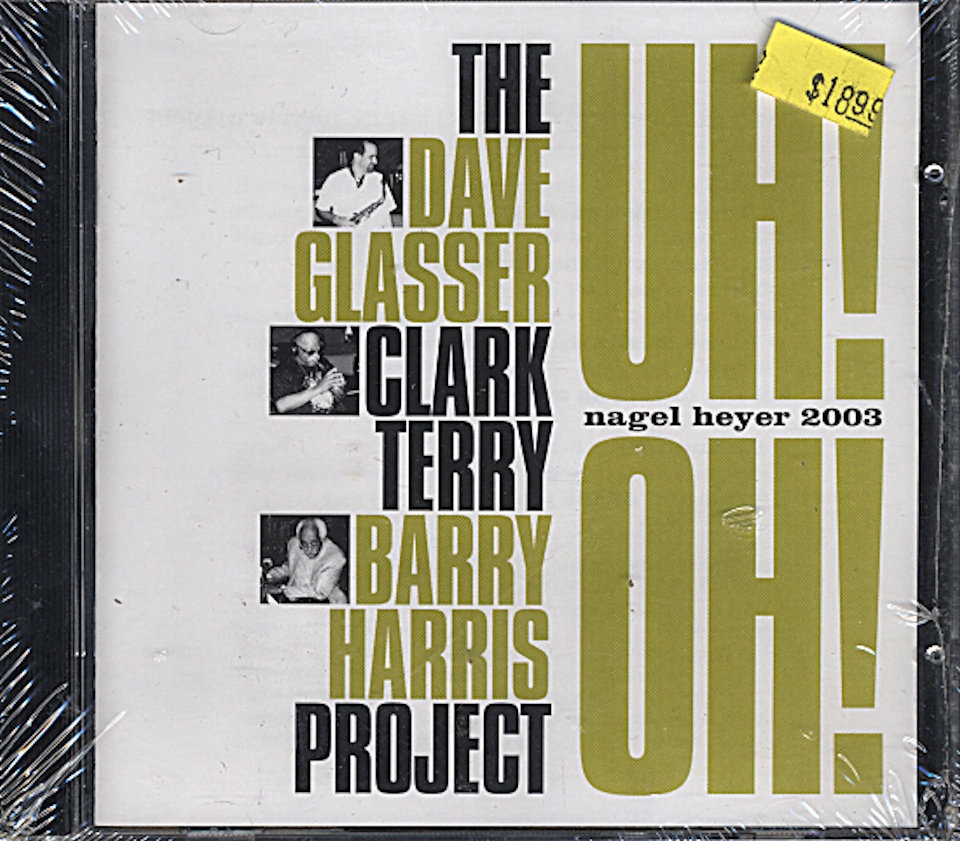Dave Glasser / Clark Terry / Barry Harris CD