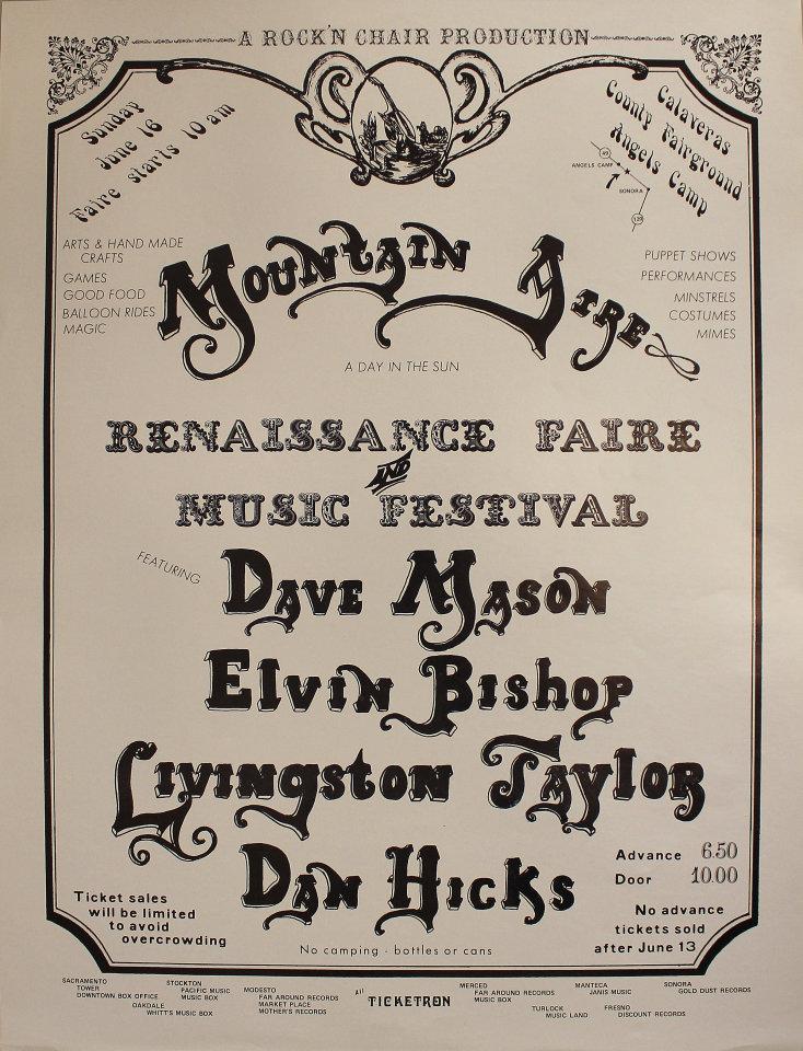 Dave Mason Poster