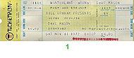 Dave Mason Vintage Ticket